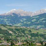 Blcik auf die Alpen und Algung